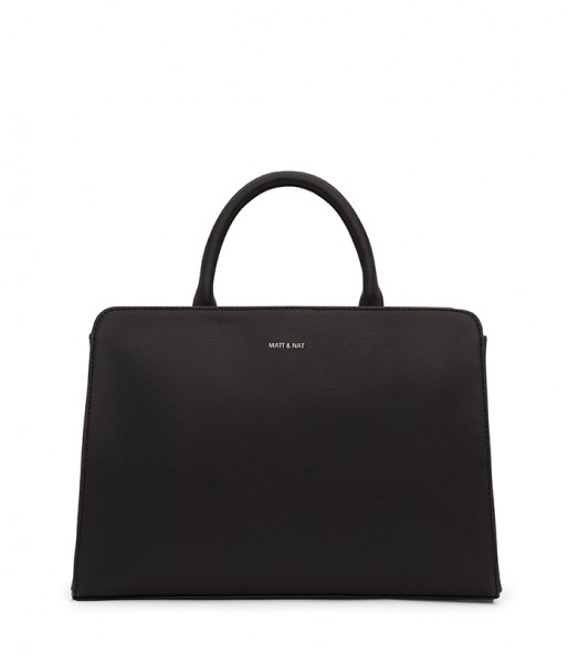 MATT & NAT vegane Handtasche Von Black