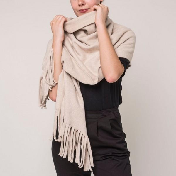 Schal aus Bio Baumwolle