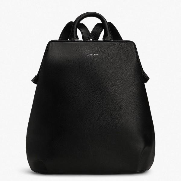 Matt Nat Vignelli Backpack Black Schwarz