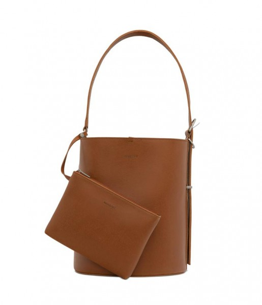 Bucket Bag aus veganem Leder