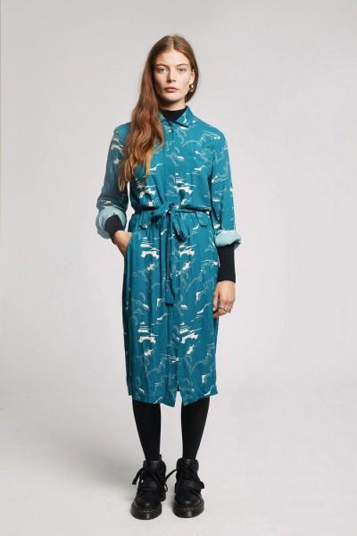 Nachhaltiges Kleid