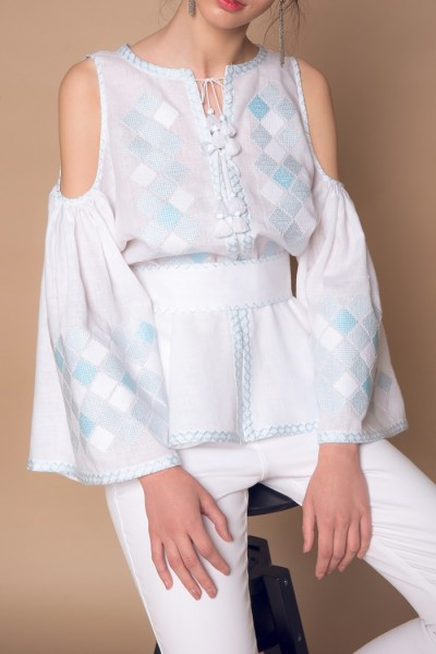 Fair Fashion Designer Bluse