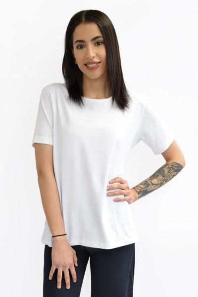 Jan 'N June Boy Rib faires T-Shirt White
