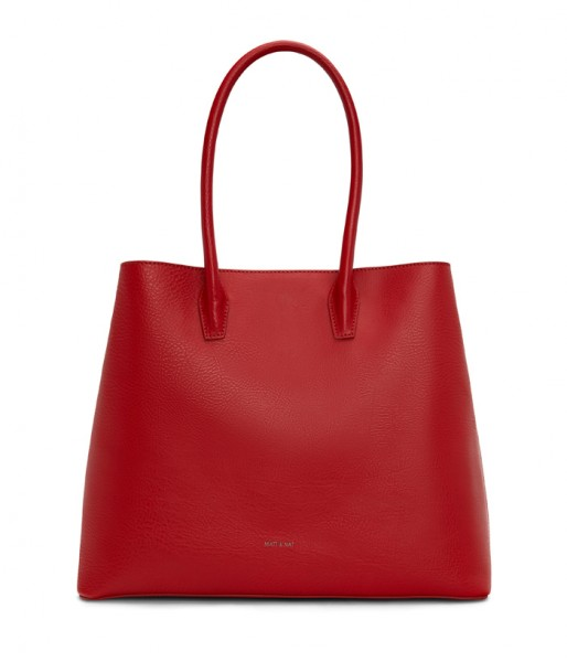 Handtasche aus Lederimitat