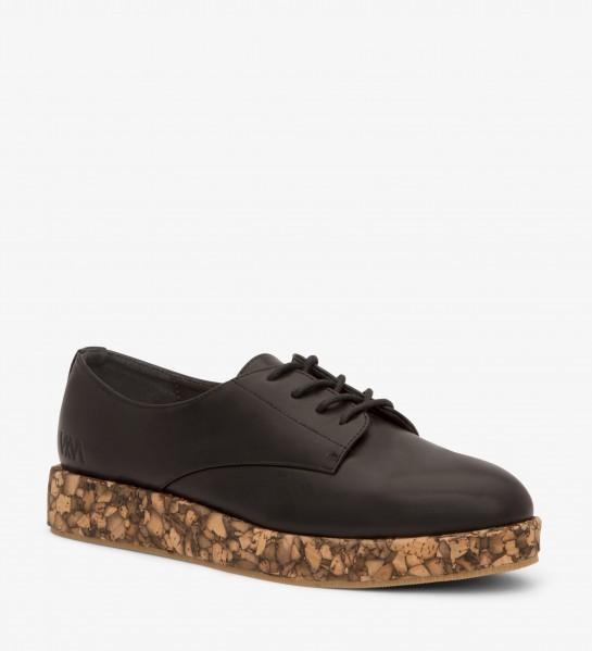 veganer Oxford Schuh