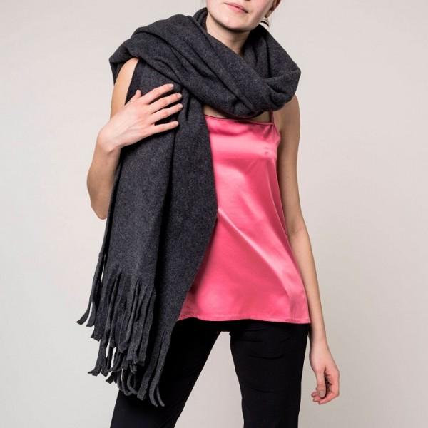 veganer Schal aus Bio Baumwolle