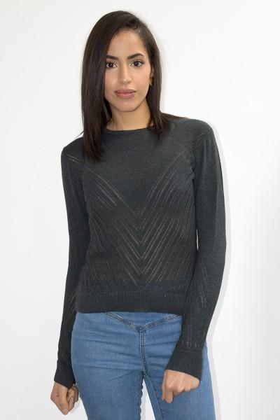Veganer Pullover aus Bio-Baumwolle