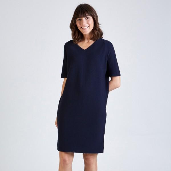 Stoffbruch Fair Fashion Kleid Valerie Blue