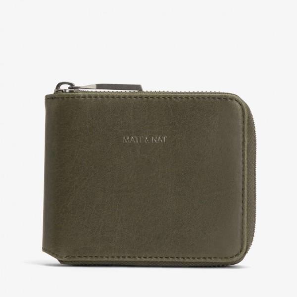 MATT & NAT Watson Vintage Wallet Olive