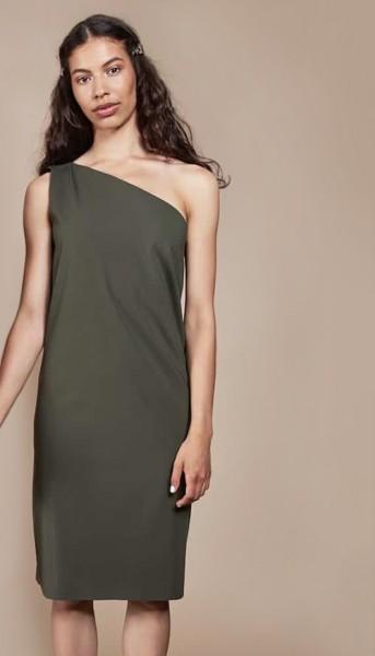 Jan 'N June faires One Shoulder Kleid Tulum Olive