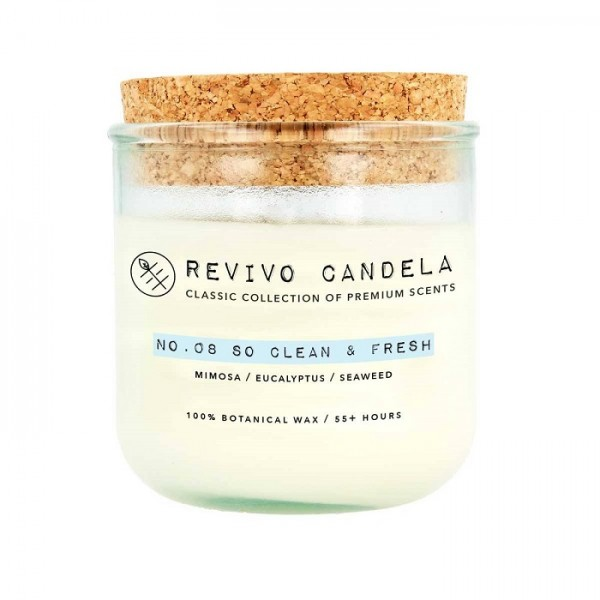 REVIVO CANDELA No. 08 So Clean & Fresh