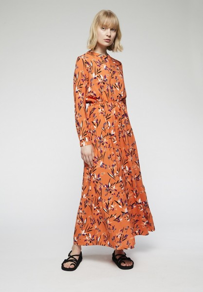 veganes Kleid aus Viskose
