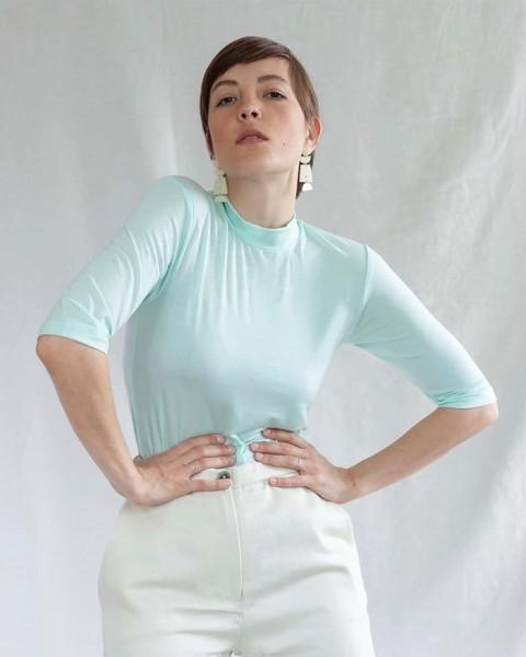 Jan 'N June Nina nachhaltiges T-Shirt Neon Mint