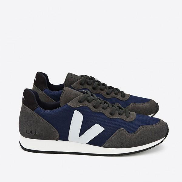 VEJA vegane Sneaker Nautico Grafite Black