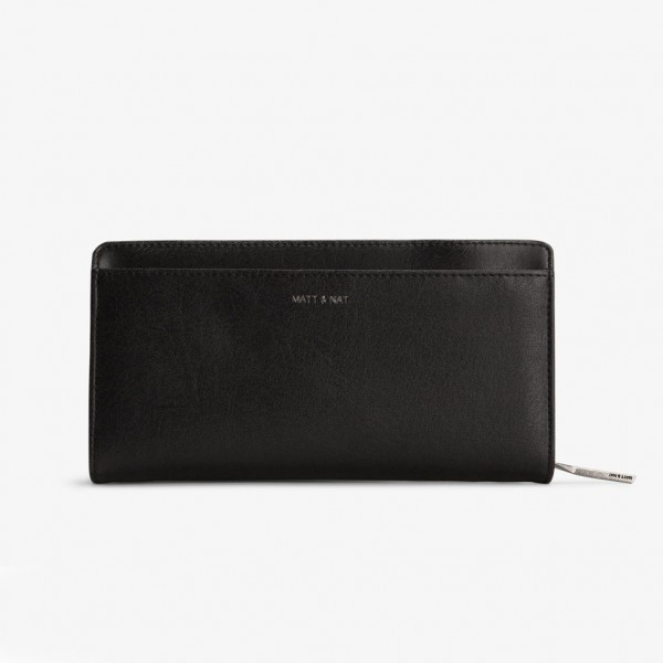 Matt & Nat Webber Wallet Black