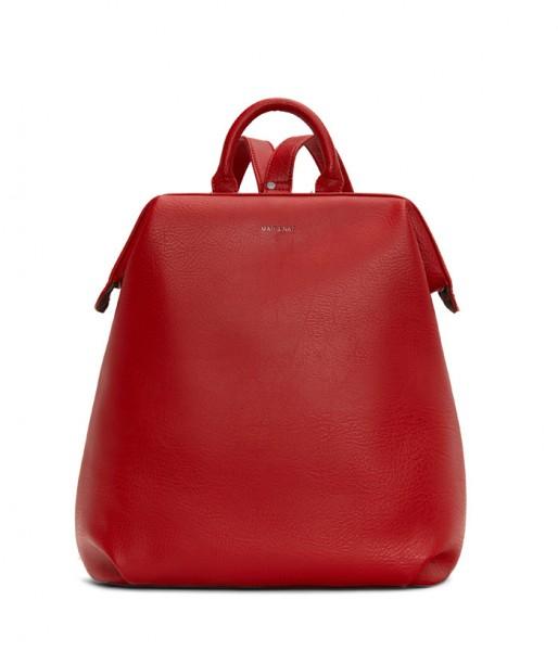 MATT & NAT Vignelli Fair Fashion Rucksack Red