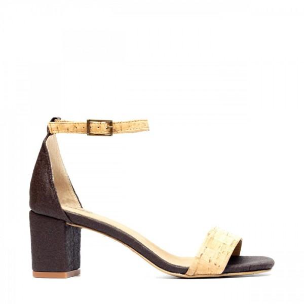 NAE Fair Fashion Sandalette Margot Pinatex