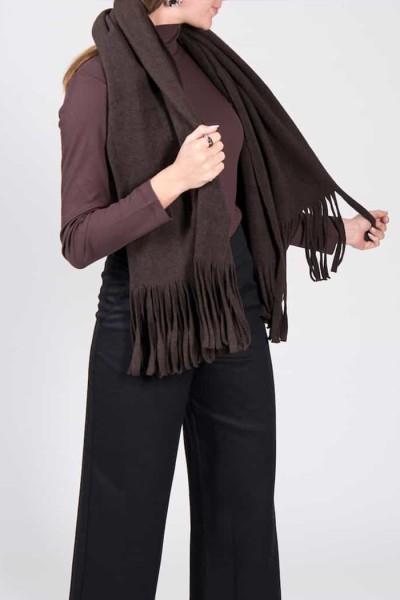 Nachhaltiger Fleece Schal