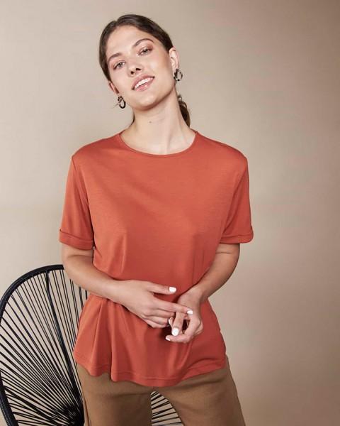 Jan 'N June Boy Fair Fashion Shirt Rust