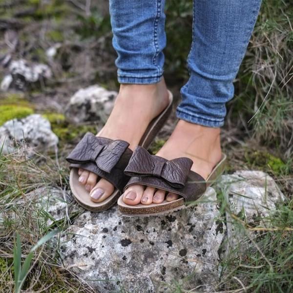 Sandale aus Pinatex